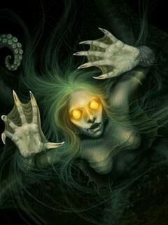 Evil mermaid - she's past the gone
