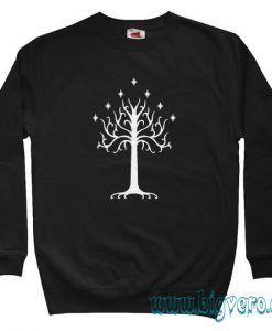 White Tree of Gondor LOTR Sweatshirt Size S-XXL