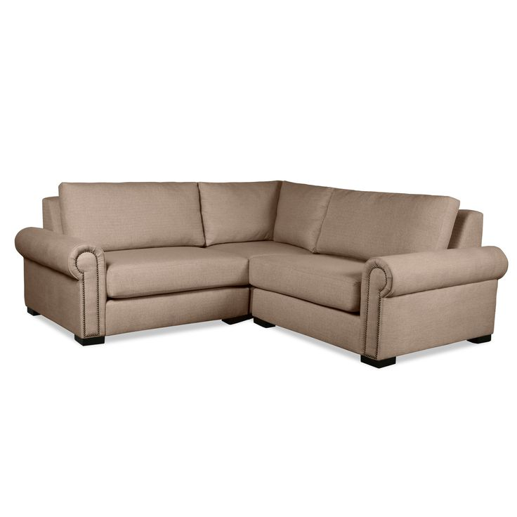South Cone Home Chelsea Modular Sectional Right And Left Arms L-Shape Mini