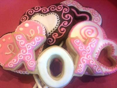 Valentine's Cookies, Valentine's Fun Foods & Creative Cuisine