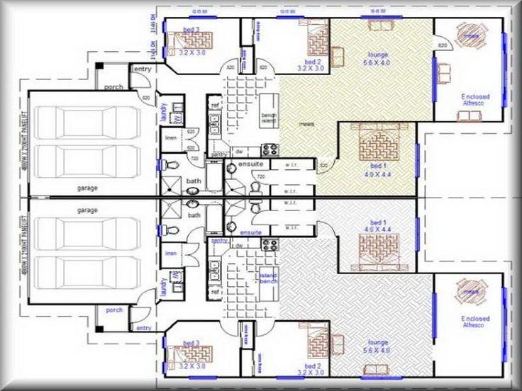 8 best Duplex images on Pinterest | Duplex plans, Apartment plans ...