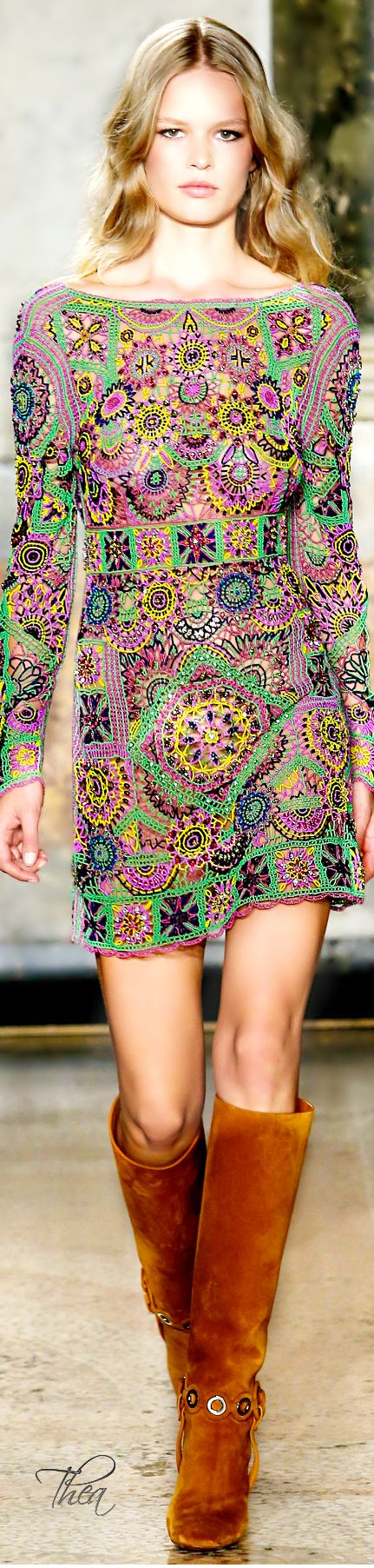 Designers Inspired by the 2960s: Emilio Pucci ~ SS 2015.