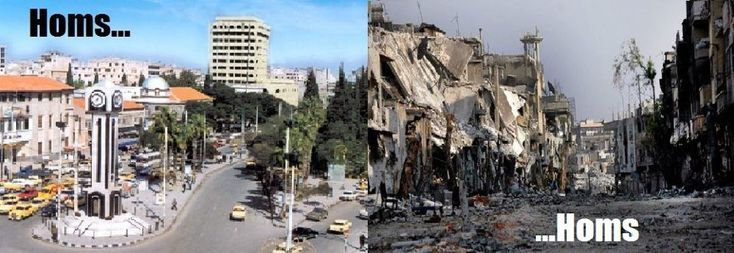 Syria Before And After War (Photos) | Ways&Steps