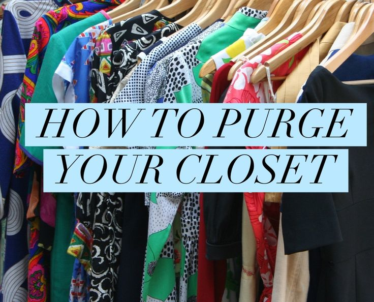 How to Purge Your Closet - Tips from Professional Organizer, Nancy Haworth of On Task Organizing, LLC in Raleigh, North Carolina