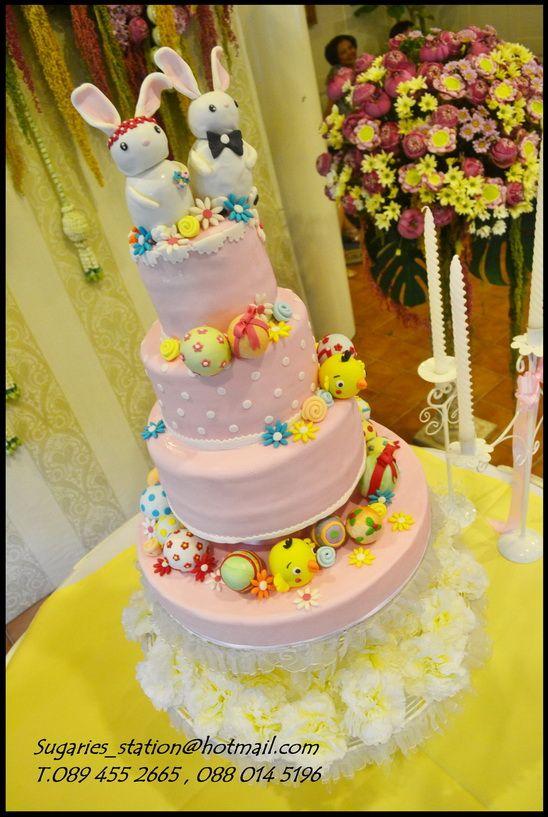 แต งงาน Wedding Cake Theme Easter Egg Weddingsquare
