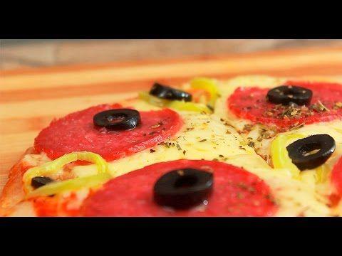 Quesadilla de pizza - YouTube
