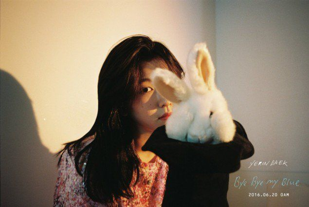 Teaser images of Baek Yerin's solo comeback | Koogle TV
