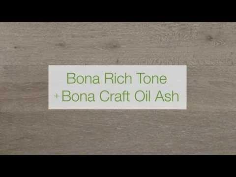 Bona Parketolie - Bona Rich Tone Grey met Bona Craft Oil Ash