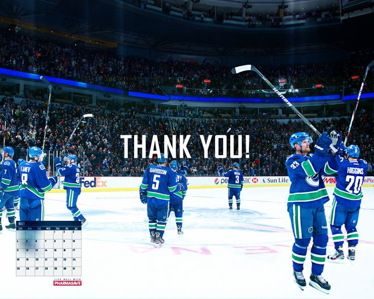 Vancouver Canucks May 2014