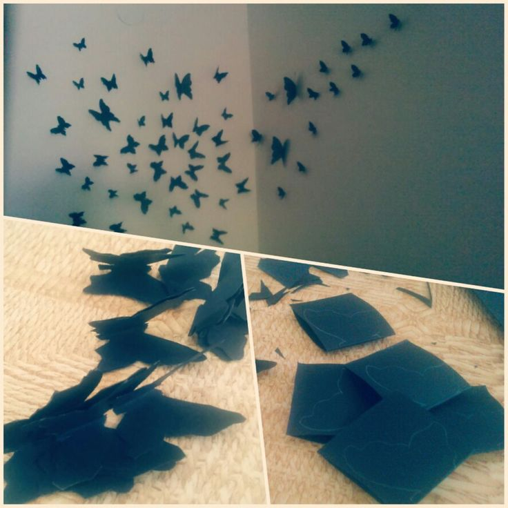 Wall decor diy butterfly