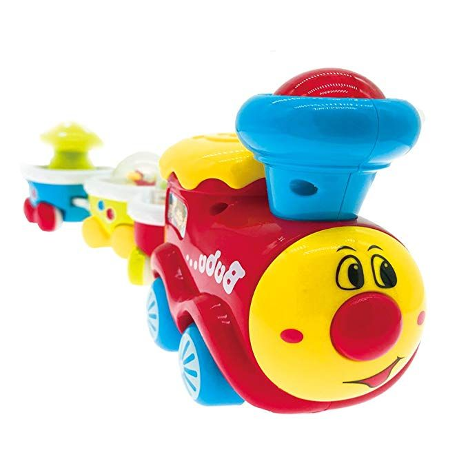 599f62dc5 Amazon.com  PUSITI Musical Train Toys for Toddlers Baby Toys Electronic  Education Toys with