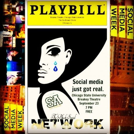 Catch the Black Social Network tonight at 7 pm at Chicago State University