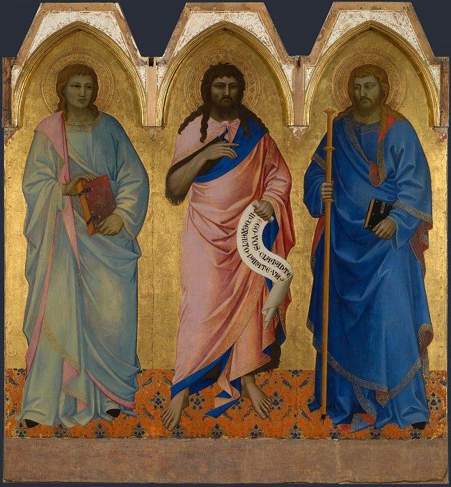 Нардо ди Чионе - Трое святых. Часть 5 Национальная галерея