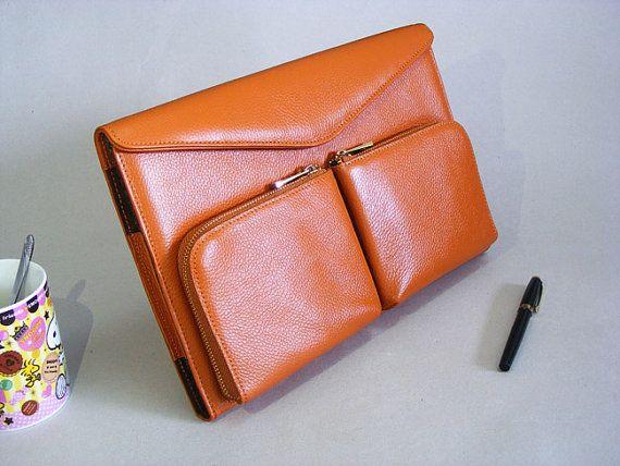 Apple Macbook Pro trag Aktenkoffer Case braun und von leathercase