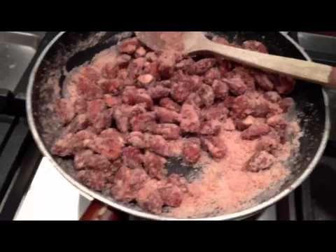 Mandorle pralinate. Caramellate fatte in casa. - YouTube