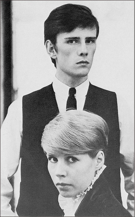 Stuart Sutcliffe and Astrid Kirchherr. Crucial Mod forebears, though German. Or maybe that's where Mod came from. Certainly, electronic music comes from there. And Romanticism kinda started there. And David Bowie.