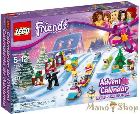 LEGO Friends Adventi naptár 41326