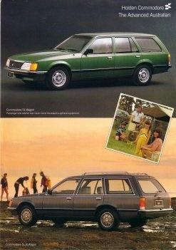 Holden Commodore SL-X Wagon VH