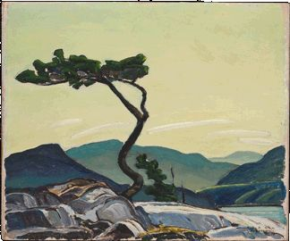 "Franklin Carmichael - ""Twisted Pine"", 1939"