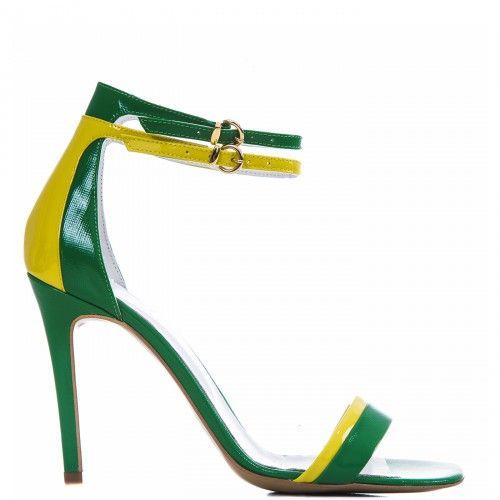 #CONDURbyalexandru #Shoes #2015 #Spring #Summer@1503 Verde cu galben