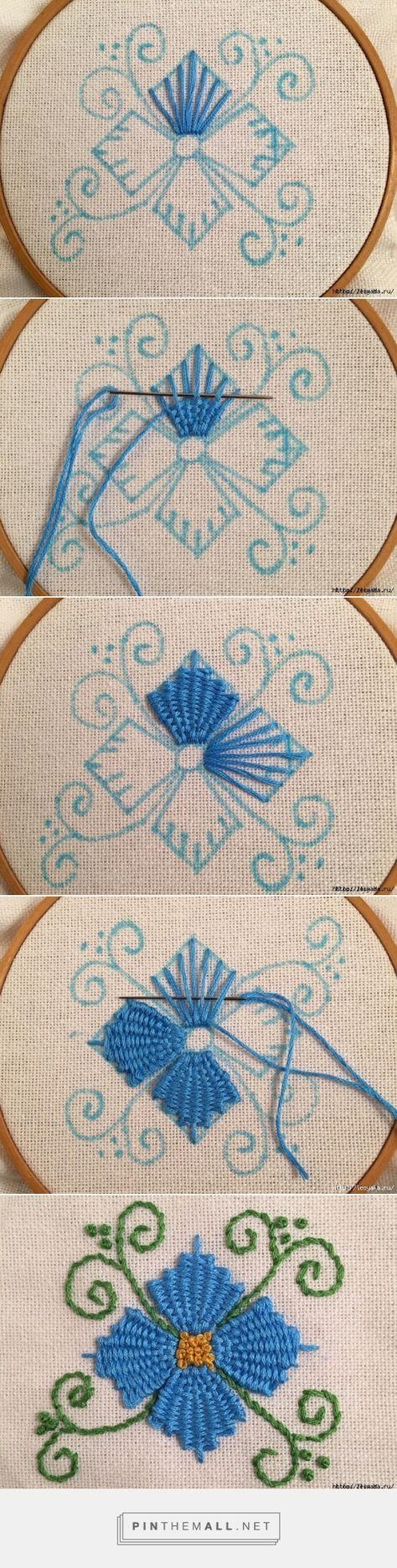 Красивая вышивка, сделанная переплетением нитей! » Женский Мир - created via https://pinthemall.net