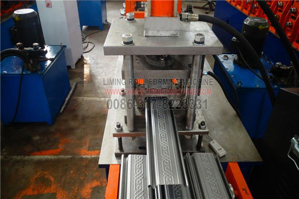 Here is the #full #automatic #working #roller #shutter #door #roll #forming #machine for Algeria, Egypt, Saudi Arab, Morocco, Tunisia customer, we can design the machine according to customer's different design or sample.