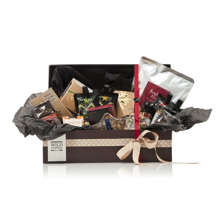 WildPoppies Holiday Gourmet Small Gift Basket  $129.00