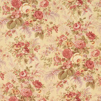 lemondrop floral decorator fabric by vervain