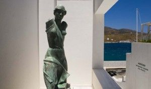 Goulandris museum in Andros More info about the museum at http://www.omilo.com/greek-contemporary-museum-on-the-island-of-andros-basil-elise-goulandris-foundation/