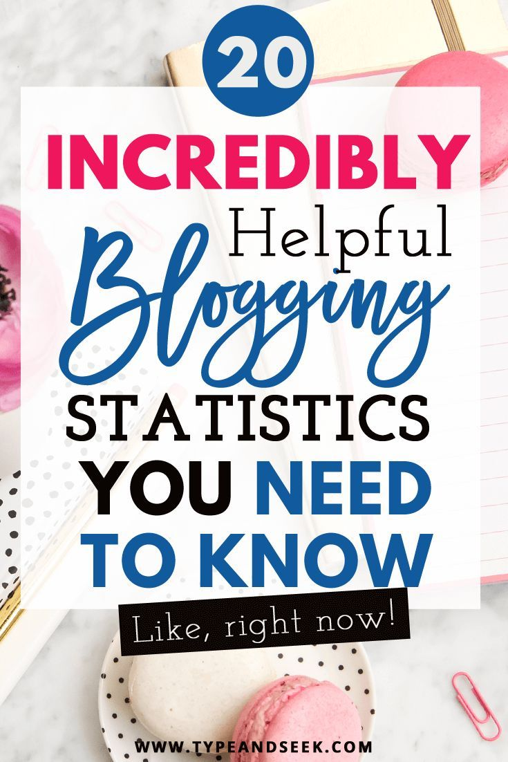 22 Incredibly Helpful Blogging Statistics You need to know!