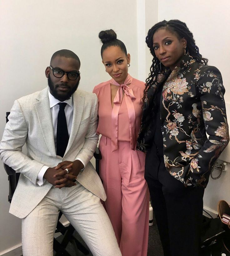 Kofi Siriboe, Dawn-Lyen Gardner, and Rutina Wesley aka the cast of Queen Sugar