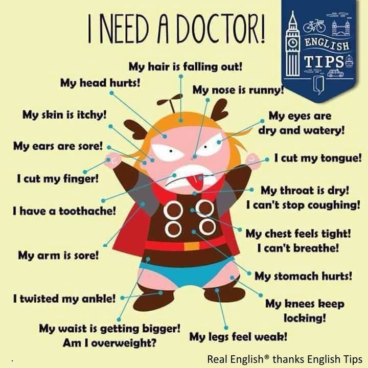Phrases - I need a Doctor!