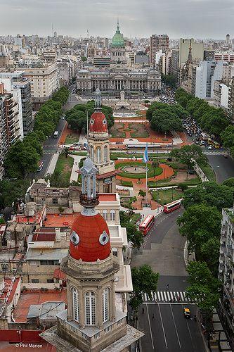 ˚Plaza del Congreso - Buenos Aires, Argentina
