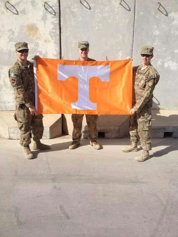 Honoring the Military Men and Women Go Vols!!!