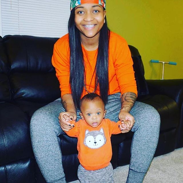 OMG I found this throwback picture, Soon this will be me with my little one  (Godson)