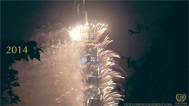 We decided to spend new years eve filming the Taipei 101 fireworks up on the Elephant Mountain 象山.   thanks to Serena Hsu produced by Greg Hung for ChicVoyage Productions http://chicvoyagegroup.com  License at http://www.paya.com/videos/1233595