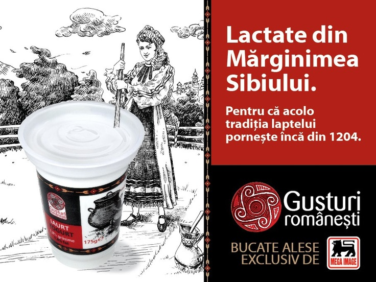 "Client: Mega Image, local retailer. Own brand: Gusturi Romanesti. ""A range born from traveling along Romania for best recipes"" Advertising Agency: CohnandJansen JWT"