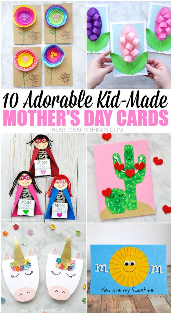 10 Adorable Mother S Day Card Ideas Kids Can Make Mothers Day
