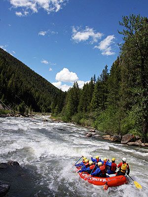 Big Sky Montana has great outdoor adventures all-year round: http://www.familycircle.com/family-fun/travel/best-ski-towns-for-summer-vacations/#