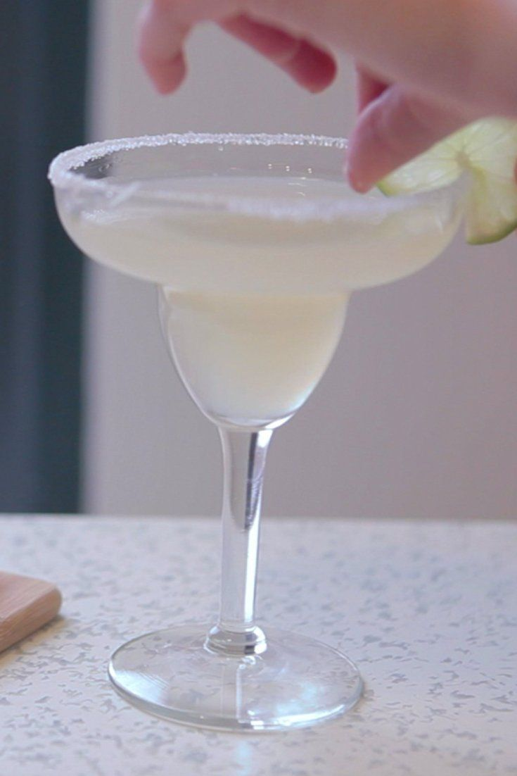 It's about time you learned how to make a classic margarita