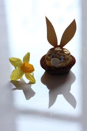 Ferrero Hase Basteln Mit Ferrero Pinterest Ostern
