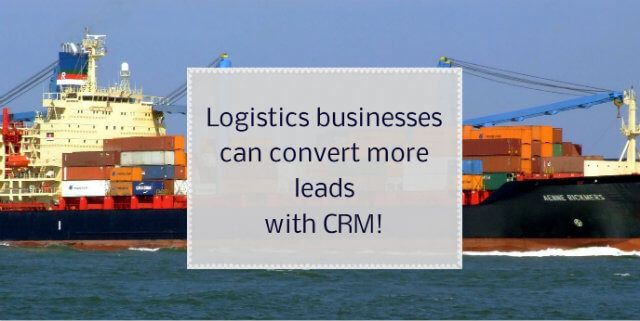 Some sure fire ways that can fuel your conversion process are right here! Logistics CRM for Lead Conversions. http://blog.dquip.com/logistics-businesses-can-convert-more-leads-with-crm/ #Logistics #Business #CRM