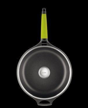 4.75-qt. Saute Pan with Lid Color: Kiwi