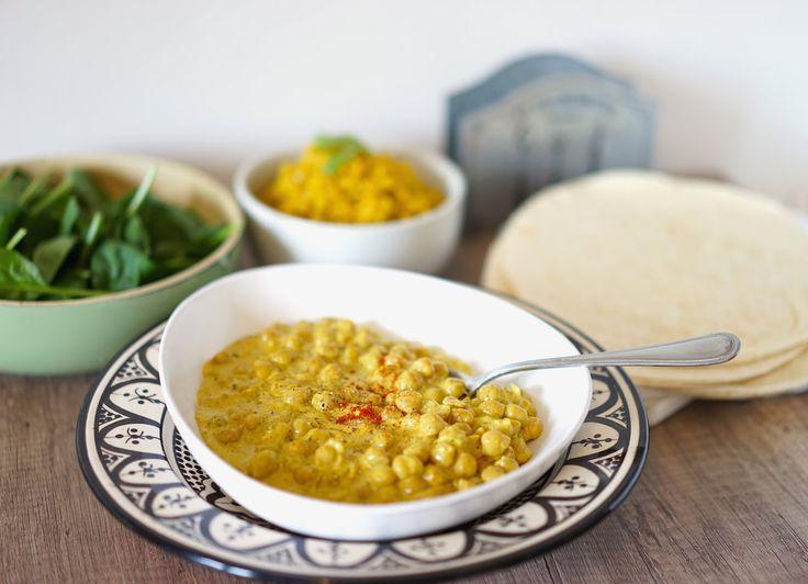 Curry de pois chiches - riz pilaf au jasmin (Georgia's Secret)
