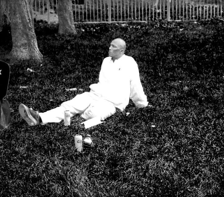 Man in the Selhurst park.
