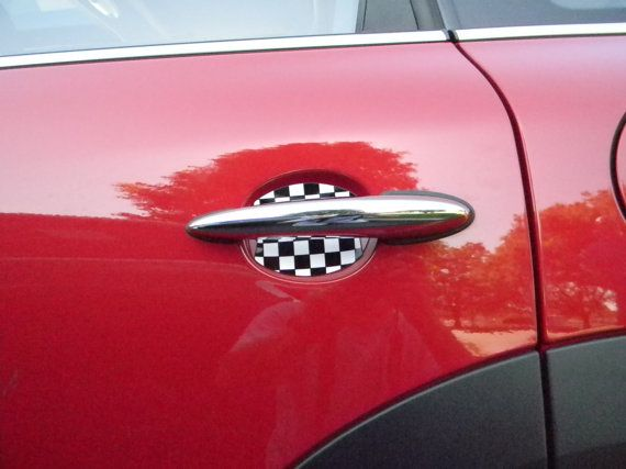 Hey, I found this really awesome Etsy listing at https://www.etsy.com/listing/162960940/mini-cooper-car-door-handle-scratch