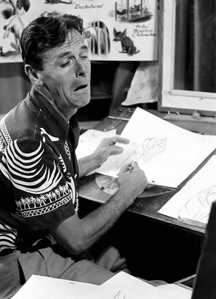 Los artistas de los estudios de Disney estudian sus reflejos para dibujar sus personajes