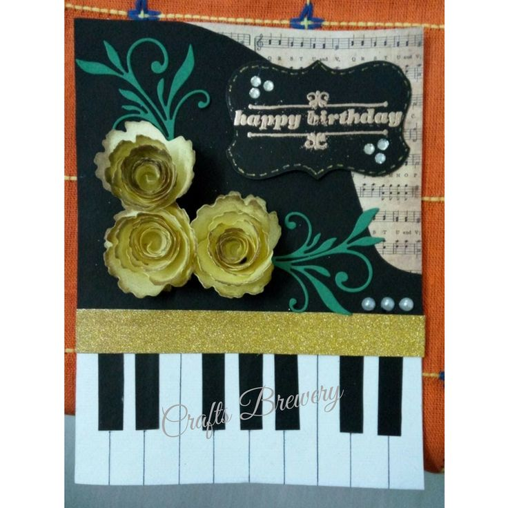 Perfect for the music lover! Customized based on occasion.  #Birthday #Anniversary #Valentinesday #Friendshipday #JustBecause #Friend #Girlfriend #Boyfriend #Handmade #card #bestgift #PaperCraft #MusicLover #Music #Piano #CardMaking #DIY #HandmadeLove #CustomizedForYou #BestGift #BirthDay #CraftsBrewery Please inbox for details and orders.