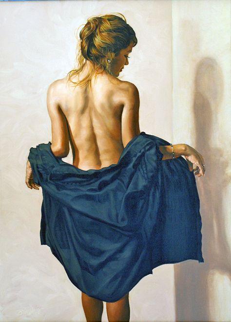 Mujer De Espaldas Pinturas Pinterest