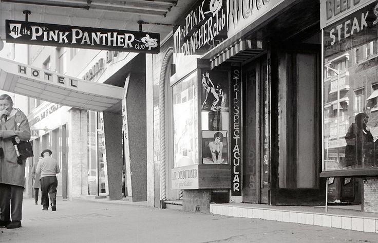 The Pink Panther Nightclub, 39-41 Darlinghurst Road, Kings Cross 5 July 1968